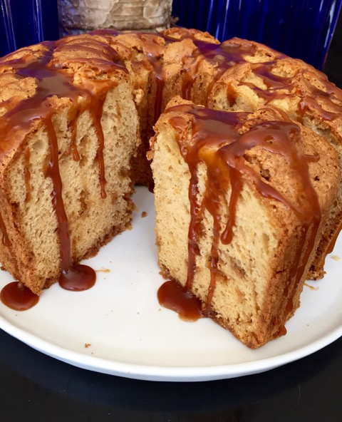 Post image for Caramel Toffee Chiffon Cake