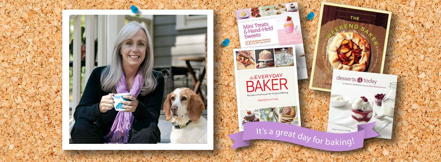 Abby Dodge - Baking the World a Better P One Recipe at a Time